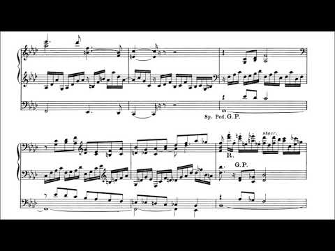 Dupré - Prelude and Fugue in F minor op. 7 no. 2 (with score)