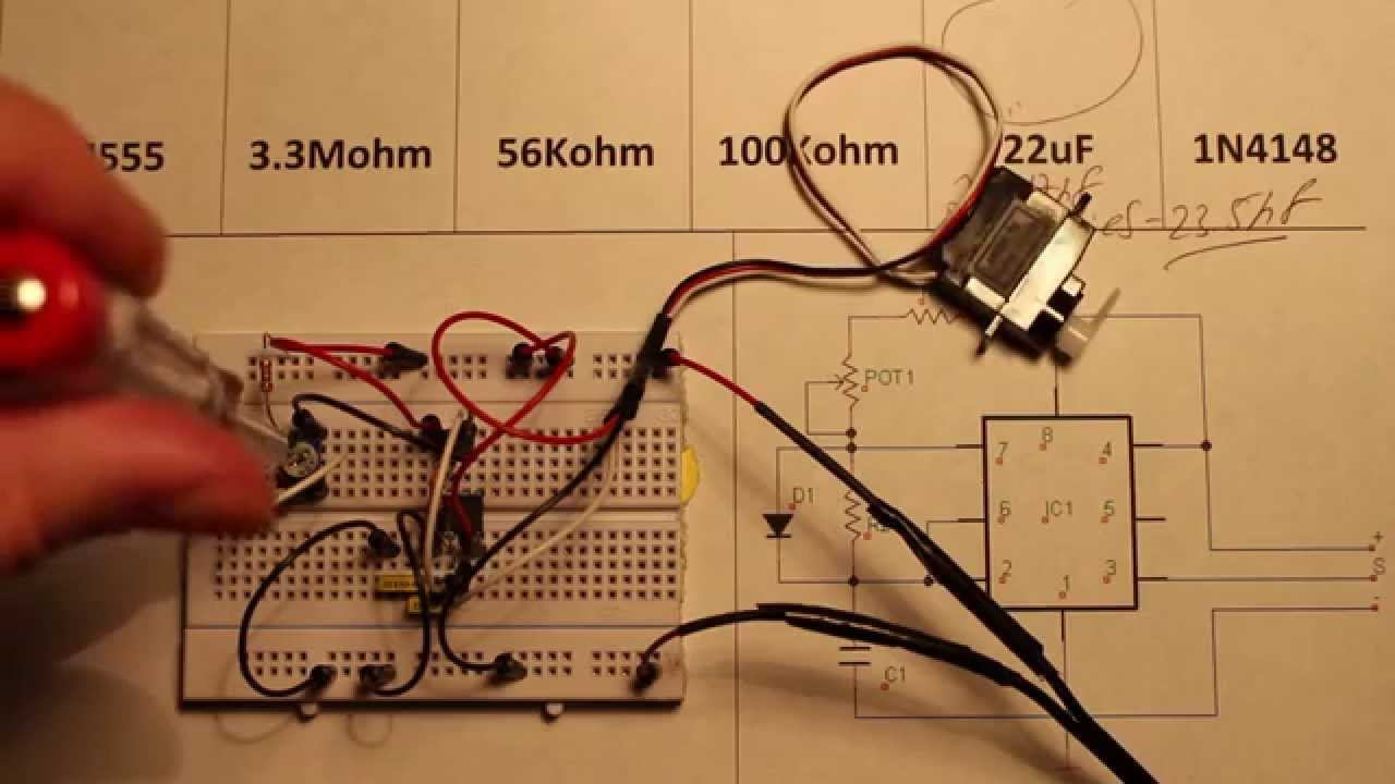 555 Servo Control Youtube Simple Tester