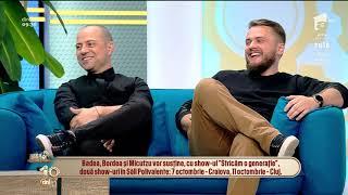 Dan Badea, Catalin Bordea si Micutzu, super show la Sala Palatului, Stricam o generatie