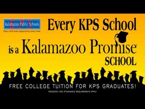 2018 Kalamazoo Public Schools Graduation - Loy Norrix