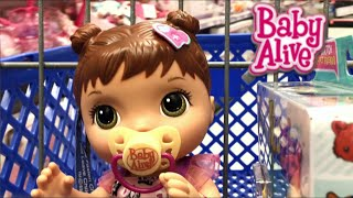 Baby Alive Better Now Bailey & the Quest for the Missing Head Peg Toys R Us Outing and Haul