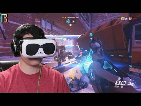 How I play Overwatch In VR