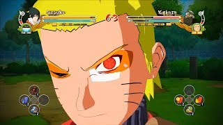 Naruto Ultimate Ninja Storm 3 Full Burst Sage Naruto Taka Sasuke  Character Swap Gameplay (PC)
