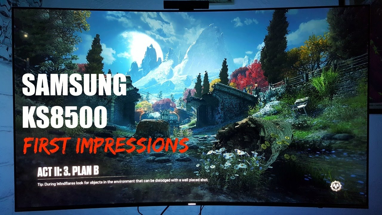 how to set up hdr+ samsung ks8500