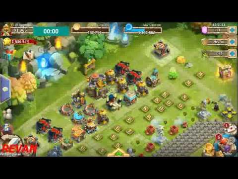 Castle Clash - HBM AD F2P No Tower Victory
