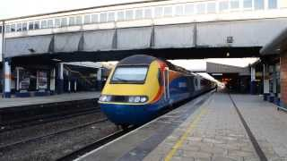 East Midlands Trains HST 43044 & 43047 Depart Leicester