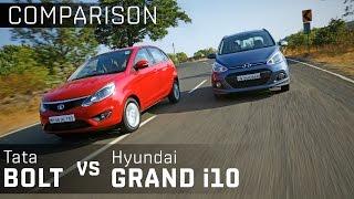 Tata Bolt vs Hyundai Grand i10 :: Comparison Review :: Zigwheels