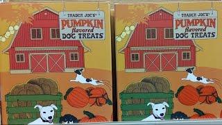 We Shorts - Trader Joe's Pumpkin Flavored Dog Treats