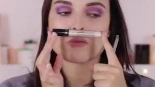 Youcanheartit x BeautyGang - Make-up violet
