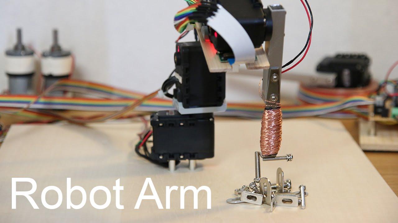 Raspberry Pi Robot Arm with simple | RobotShop Community