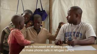Burundian refugees restore contact with their families