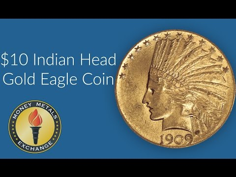 Troy Ounce of Gold Indian Head Coins | U.S. Mint | Money Metals Exchange