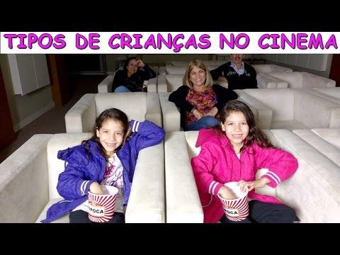 TIPOS DE CRIANÇAS NO CINEMA