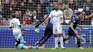 Video Gol Pertandingan Tottenham Hotspur vs Swansea City