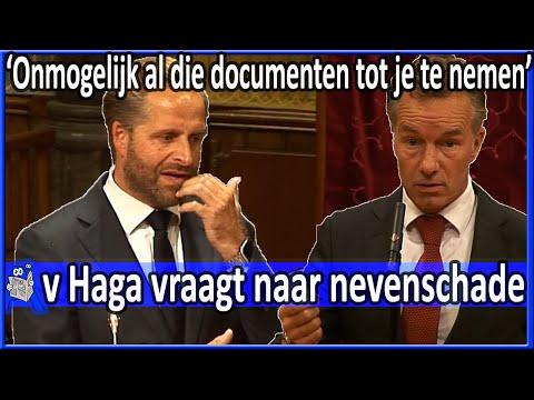Wybren van Haga vraagt Hugo de Jonge naar nevenschade - Debat Coronavirus Tweede Kamer