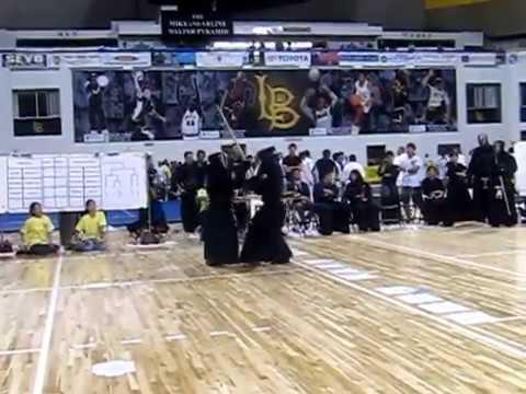 Kendo 2014 Nikkei Games Kachinuki Team: CMKD v GED -- 2 vs 1