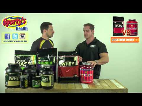 ON 100% Gold Standard Whey Vs BSN Syntha 6