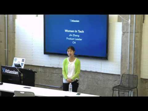 Women in Tech at Atlassian - Jin Zhang