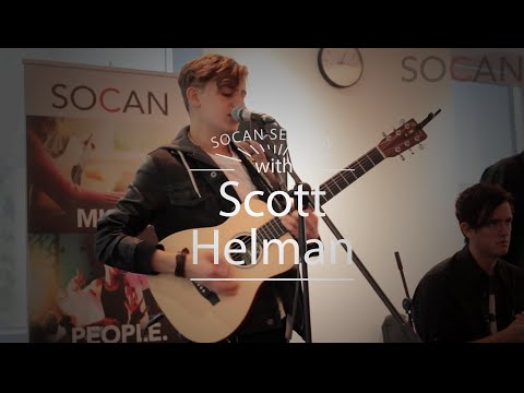 #SOCANSessions with Scott Helman
