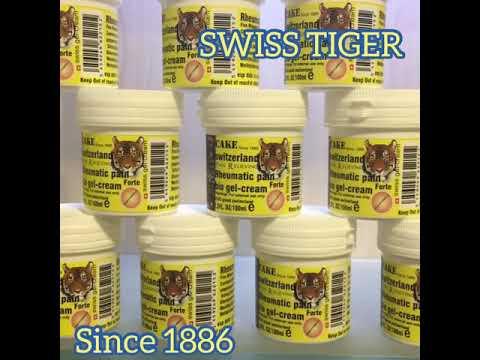 Bio gel cream swiss tiger