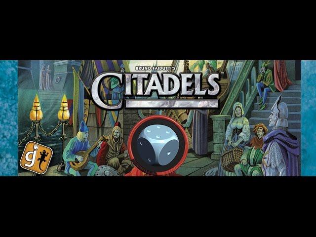 Citadels - Como jogar (jogo básico)
