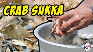 Crab sukka mangalorean style | cooking videos | crab recipe