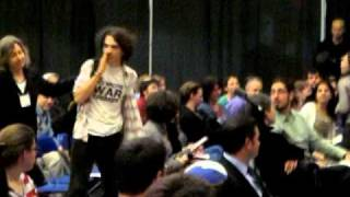 Brandeis Students Calling to Arrest Avi Dichter 4.4.11