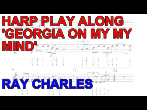 Georgia On My Mind Harmonica Play Along Free Harp Tab And Backing