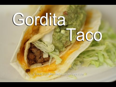 How To Make Gordita Beef Crunchy Tacos