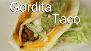 How To Make Gordita Beef Crunchy Tacos | Rockin Robin Cooks