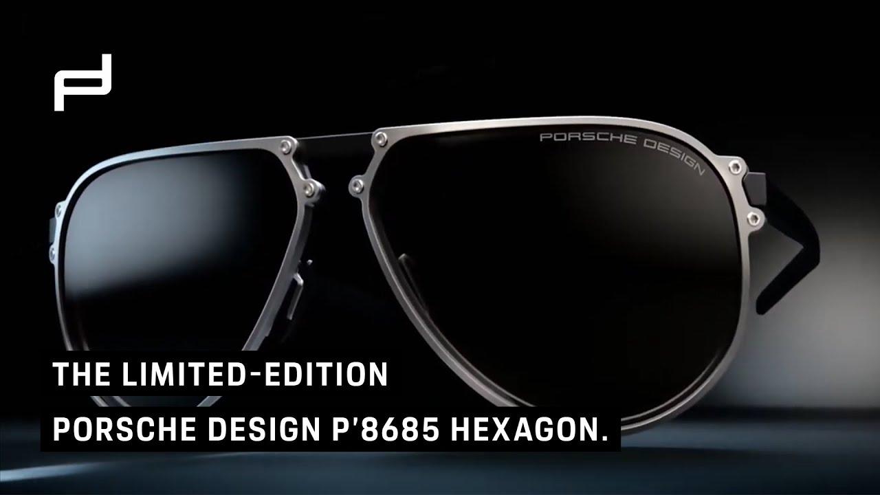 The limited-edition Porsche Design P'8685 Hexagon