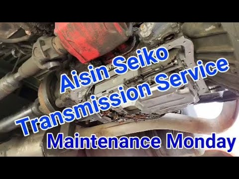 Transmission Filter and Fluid Change- Aisin Seiko for UD, Isuzu, Hino, Fuso  medium duty trucks