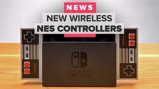 Nintendo Switch Online and wireless NES controller details from Nintendo Direct stream