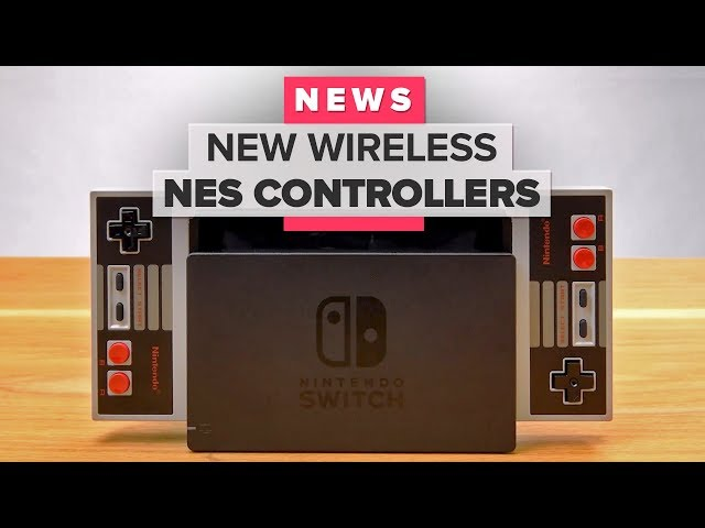 NES wireless controllers announced for Nintendo Switch Online