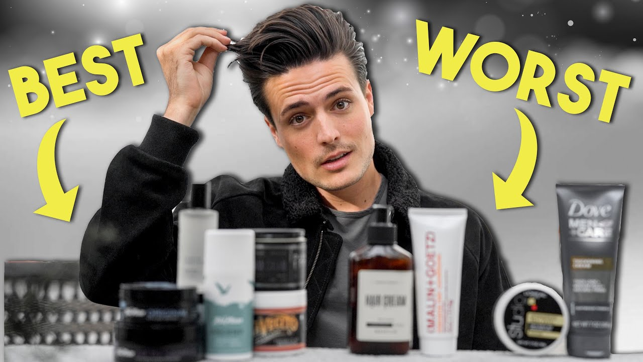 Mens Hairstyling Into 2020 Best Worst Hair Products Youtube
