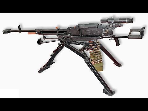 KORD 12.7mm (Heavy Machine Gun) - КОРД 12.7mm (Крупнокалиберный Пулемёт)