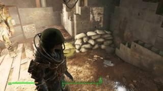 Fallout 4 Секреты - небольшой подвал в самом начале.