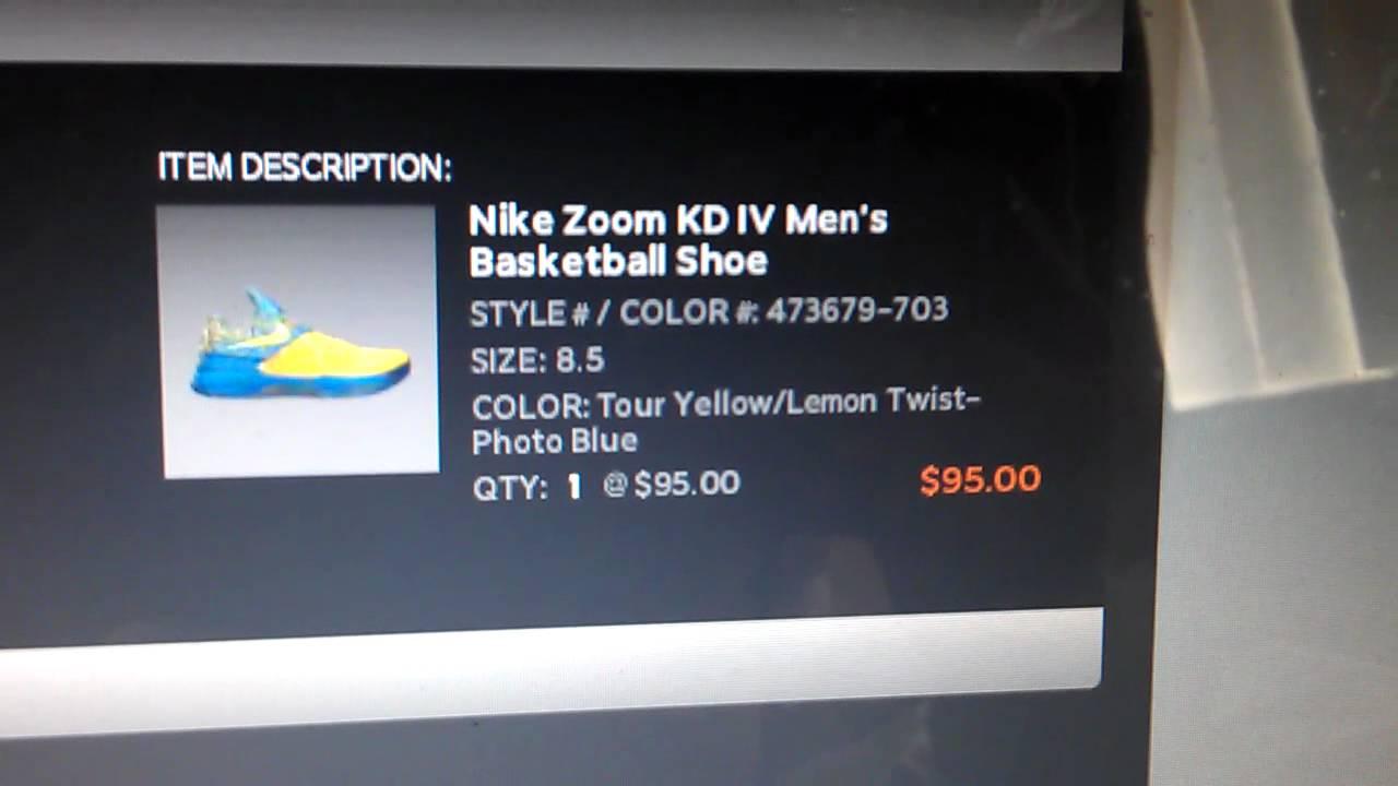 39de16153bed Nike Zoom KD 4 Scoring Title Online Story - YouTube