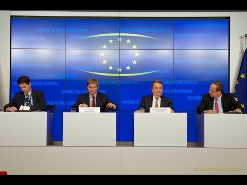 Meeting of the AGRIFISH Council, Day 1, Luxembourg 16.06.2014 - Press Conference