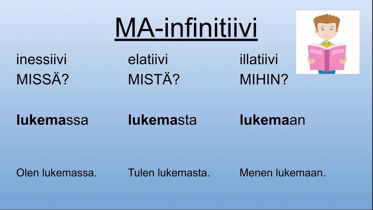 Ma-Infinitiivi