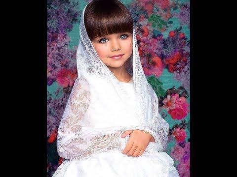 6-летняя россиянка покорила модельный мир . - Ржачные видео приколы