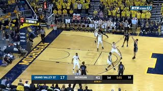 Moritz Wagner's Two-Hand Jam vs. Grand Valley State