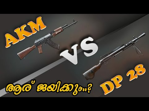 DP-28 Vs AKM | Four Different Types Of Damage Test | WHO WON.,?