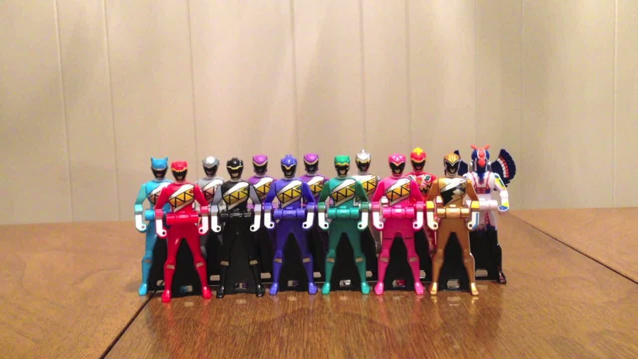 Ranger Key Set ZYUDEN SENTAI KYORYUGER Power JAPAN RARE Premium Bandai