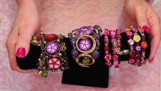 How to Create Brush Stroke Flower Beads with Polymer Clay