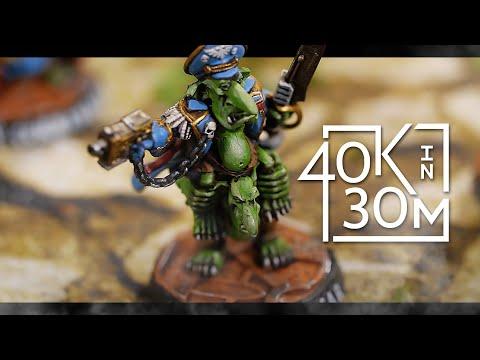 Warhammer 40k Battle Report Dark Angels VS Astra Militarum. 1500 Pts