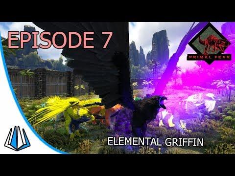 Elemental Griffin Sudah Lengkap! - ARK: Primal Fear #EP7