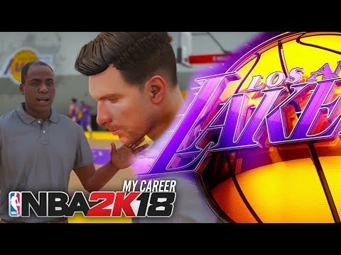 NBA 2K18 My Career - Ep 3 - TRYING OUT FOR THE LAKERS!! (NBA 2K18 The Prelude #3)