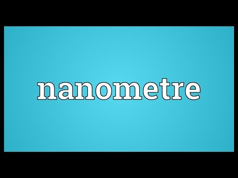 Nanometre Meaning