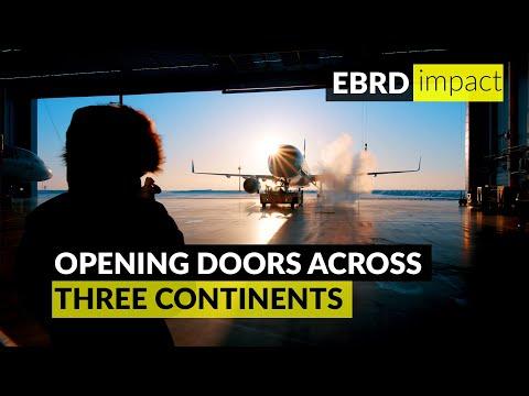 EBRD opens doors across three continents